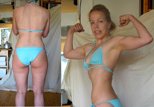 Katri 2004 esittelee kroppaansa